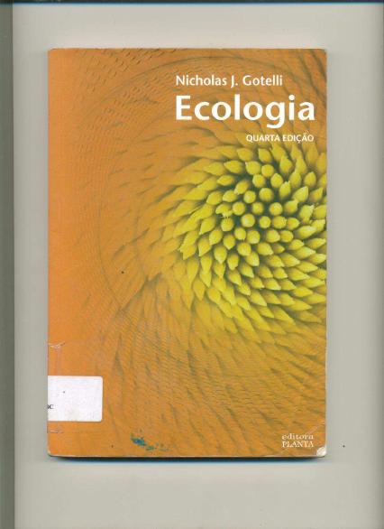 ecologia nicholas j.gotelli