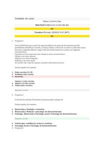 AV2 PSICOMOTRICIDADE