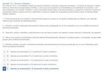 TEMPOS E METODOS APOL1 NOTA 100
