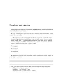 100 Exercícios - Verbos