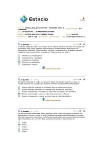 AV1 DE FILOSOFIA, ÉTICA E CIDADANIA (CCJ0131)
