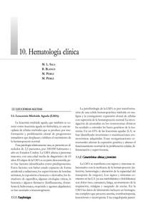 hematologia clinica CAP10
