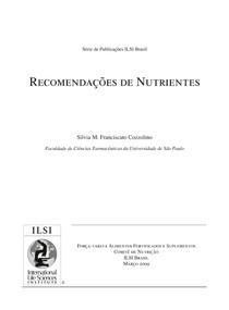 Recomendações de Nutrientes - Artigo