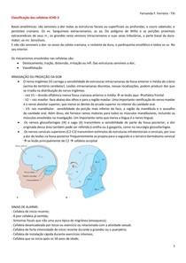Classificação das cefaleias ICHD