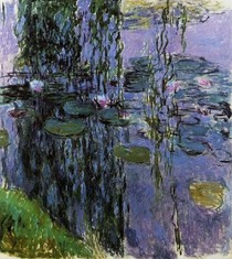 Water Lilies12-Claude Monet