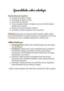 Generalidades sobre osteologia