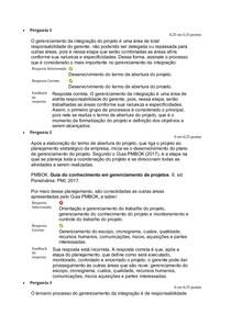 ATV 4- GESTÃO DE PROJETOS