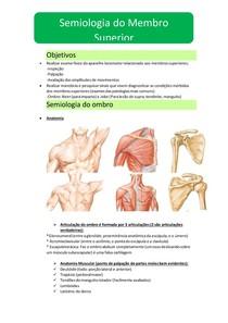 Semiologia do ombro