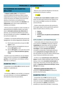 INTERMEDIÁRIA I- PROBLEMA 3- METABOLISMO