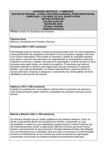 TEMPLATE   ATIVIDADE CIENTÍFICA  Prof. Rafael Campolino