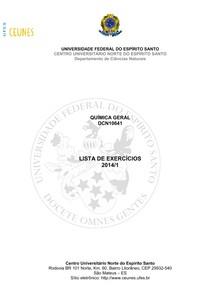 ananeryfm-lista_exercicios_2014_1_Quimica_Geral
