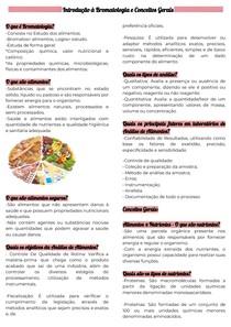 Introdução à Bromatologia e Conceitos Gerais