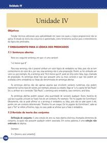 Lógica - Livro Texto - Unidade IV (UNIP)