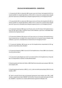 CÁLCULO DE MEDICAMENTOS (1)