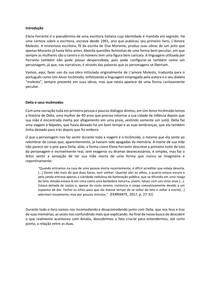 Análise literária de Um Amor Incomodo, Elena Ferrante. L'amore Molesto