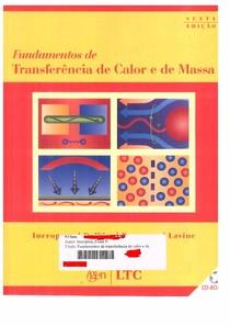 [LIVRO]FUNDAMENTOS DE TRANSFERENCIA DE CALOR E DE MASSA INCROPERA