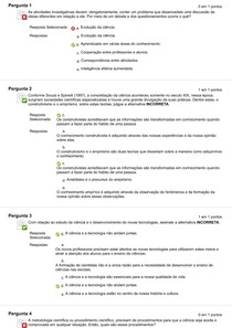AOL - 2 METODOLOGIA DO ENSINO DA CIENCIAS