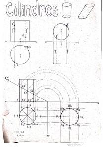 Geometria Descritiva - Cilindros, Cones e Esferas