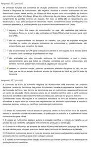 teste 4 - Nutrição Profissão e Ética