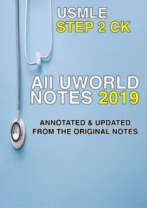 All Uworld step 2 Notes 2019 - Perguntas e Respostas - 30