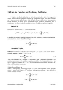Calculo Numerico - series