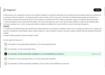 Avaliação Online 1 (AOL 1)- Questionário de Ética e Cidadania