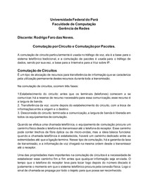 Atividade Comutação - Rodrigo