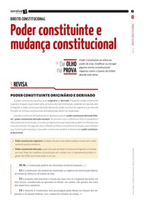 Modolo 1 - Poder constituinte e mudança constitucional