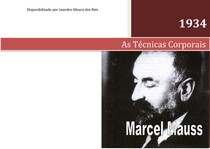 Marcel Mauss As Técnicas Corporais