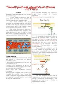 Farmacologia dos anti-inflamatórios não esteroidais (AINEs) - 1