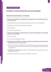 Crédito e financiamento ao consumidor e superendividamento - Resumo