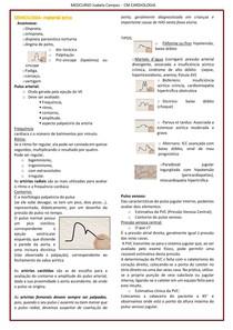 CM cardiologia EXTRA- SEMIOLOGIA CARDÍACA