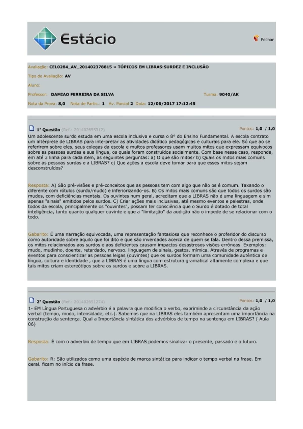 Pre-visualização do material AV   Tópicos em Libras   Surdez e Inclusão - página 1
