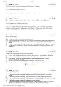 AV2 GOVERNO E GESTÃO ESTRUTURA DO SETOR PÚBLICO