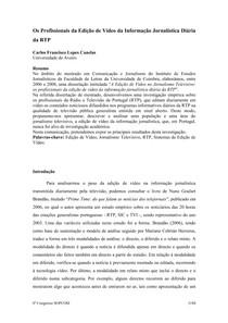 ARTIGO CARLOS CANELAS   RTP