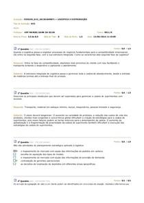 Av2 - Logística e  Distribuição 2014.1