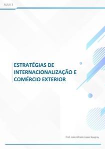Aula 3 - PROJETOS INTERNACIONAIS - MOTIVAÇÕES E RISCOS