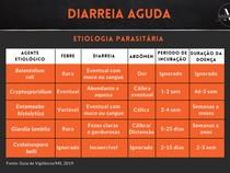 Diarreia Aguda - Etiologia Parasitária