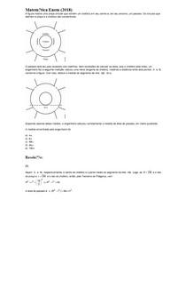 Matemática Enem (2018) - QUESTÃO 153 Caderno Azul