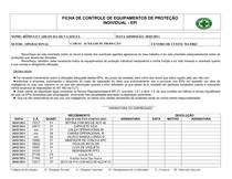 1ffd7289348c2 MODELO DE FICHA DE ENTREGA DE EPI - Segurança do Trabalho