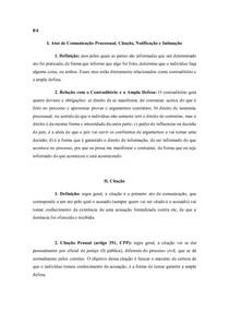 Atos de Comunicação no Processo Penal