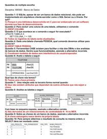 685560 - Banco de Dados