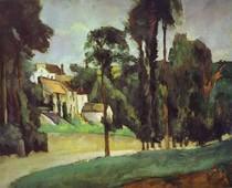 Paul Paul Cézanne - The Road at Pontoise