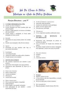Princípios biomecânicos PPR