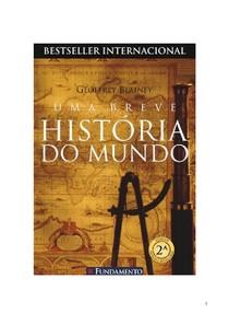 Uma Breve Historia do Mundo - Geoffrey Blainey