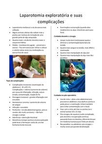 LAPAROTOMIA EXPLORATÓRIA E AS PRINCIPAIS COMPLICAÇÕES