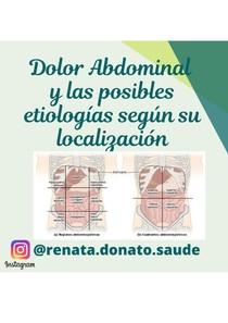 Dolor Abdominal y las posibles etiologías
