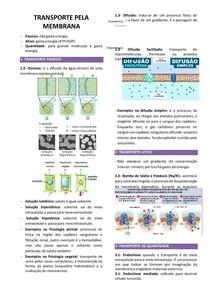 Transporte da membrana