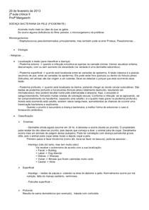20 de fev matéria PIODERMITE (net e aula)