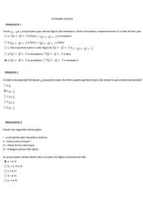 Atividade para avaliação - semana 3 - Fundamentos Matemáticos da Computação